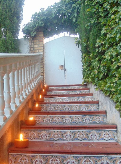 Antorchas jardin velas granada cereria articulos for Antorchas jardin